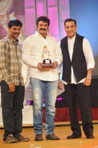 Suresh Kondeti, NBK, Kamal at Santosham Film Awards 2012 Function Stills