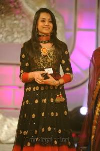 Trisha Krishnan at Santosham Film Awards 2012 Function Stills