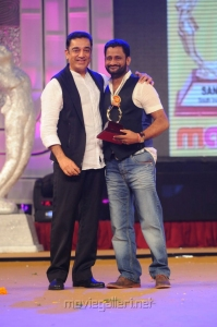 Kamal Haasan, Resul Pookutty at Santosham Film Awards 2012 Function Stills