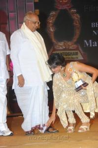 ANR, Lakshmi Prasanna at Santosham Film Awards 2012 Function Stills