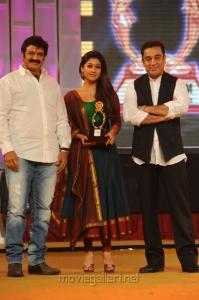 Balakrishna, Nayanthara, Kamal at Santosham Film Awards 2012 Function Stills