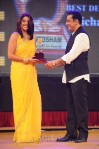 Richa Gangopadhyay, Kamal at Santosham Film Awards 2012 Function Stills