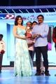 Mannara Chopra, Ganta Srinivasa Rao @ Santosham South India Film Awards 2017 (15th Anniversary) Photos