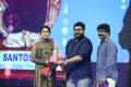 Shriya Saran, Chiranjeevi, Suresh Kondeti @ 16th Anniversary Santosham South Indian Film Awards 2018 Photos