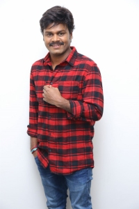 Telugu Hero Saptagiri Stills at Sapthagiri LLB Movie Interview