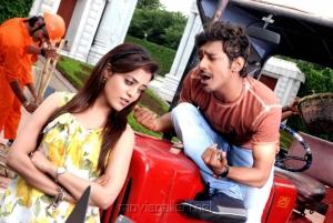 Nisha Agarwal, Varun Sandesh in Saradaga Ammai Tho Movie Stills