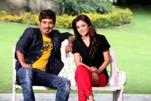 Varun Sandesh, Nisha Agarwal in Saradaga Ammai Tho Movie Stills