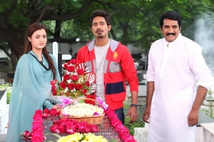 Nisha Agarwal, Varun Sandesh, Rao Ramesh in Saradaga Ammaitho Movie Stills