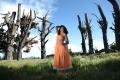 Sarah Jane Dias enjoying the nature in Khiladi Movie