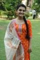 Actress Saranya Mohan in Churidar Cute Stills