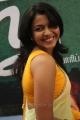 Saranya Nag Hot Transparent Yellow Saree Photos