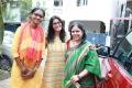 Priyadharshini, Varalaxmi, Sharanya Louis @ Shakthi Movie Team Photos