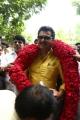 Actor Sarathkumar filing Nomination for Nadigar Sangam Election 2015 Photos