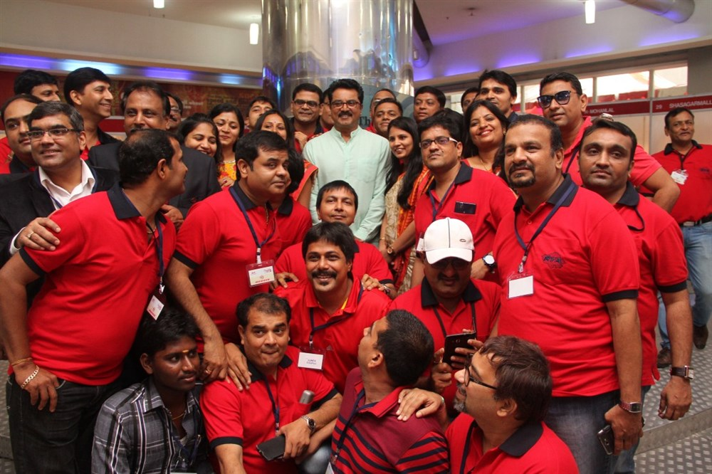 Actor SarathKumar Inaugurates Career Fest 2015 Stills