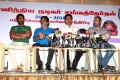 Actor Sarathkumar Press Meet for Nadigar Sangam Election 2015 Photos