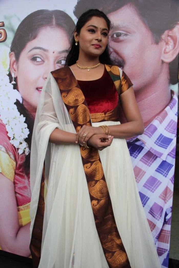Actress Arundhati @ Saravana Poigai Movie Audio Launch Stills