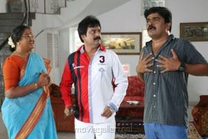 Vadivukarasi, Vivek, Cell Murugan in Saravana Poigai Tamil Movie Stills