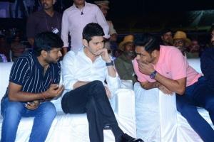 Anil Ravipudi, Mahesh Babu, Vamshi Paidipally @ Sarileru Neekevvaru Pre Release Function Photos