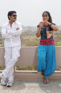 Srihari, Neenu Karthika in Sarkar Gunda Movie Stills