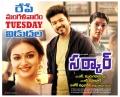 Sarkar Movie Release Tomorrow Posters