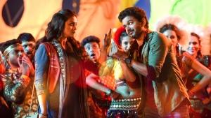 Keerthy Suresh, Vijay in Sarkar Movie Stills HD