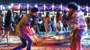 Vijay, Yogi Babu in Sarkar Movie Stills HD