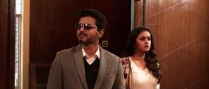 Vijay, Keerthi Suresh in Sarkar New HD Photos