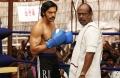 Arya, Pasupathy in Sarpatta Parambarai Movie Stills