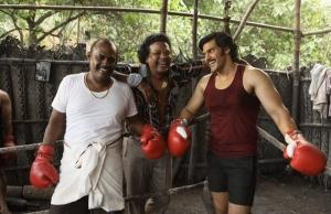 Pasupathy, John Vijay, Arya in Sarpatta Parambarai Movie Stills