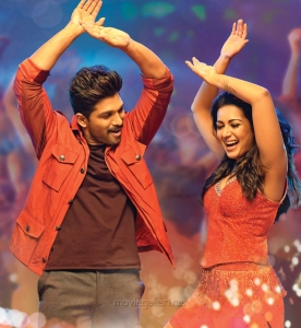 Allu Arjun & Catherine Tresa in Sarrainodu Movie Stills