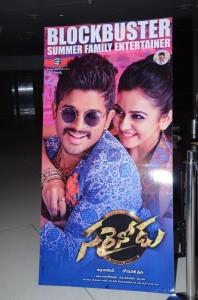 Sarrainodu Movie Success Meet Stills