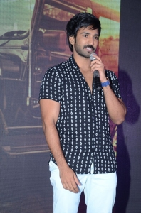 Aadhi @ Sarrainodu Movie Success Meet Stills