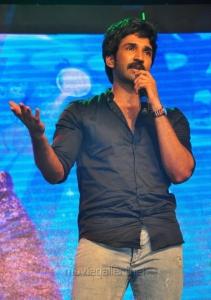 Aadhi @ Sarrainodu Success Celebrations in Vijayawada Photos