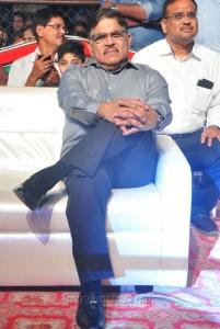 Allu Aravind @ Sarrainodu Success Celebrations in Vijayawada Photos