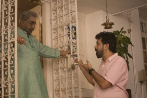 Nedumudi Venu, Rajiv Menon in Sarvam Thaala Mayam Movie Stills HD