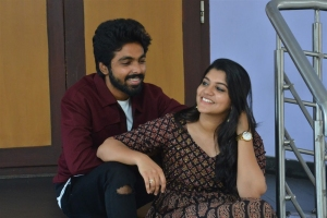GV Prakash, Aparna Balamurali @ Sarvam Thaala Mayam Movie Press Meet Photos