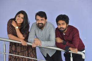 Aparna Balamurali, Rajiv Menon, GV Prakash @ Sarvam Thaala Mayam Movie Press Meet Photos