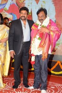 Chiranjeevi, VV Vinayak .@ Sathamanam Bhavati Success Meet Stills