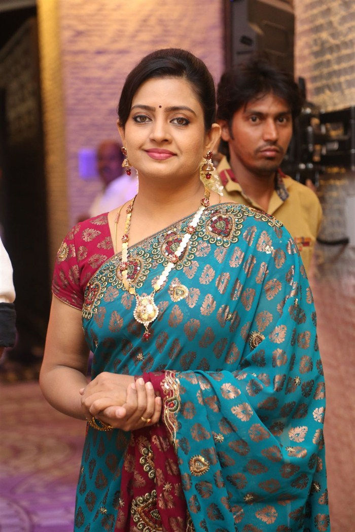 Actress Indraja @ Sathamanam Bhavati Success Meet Stills