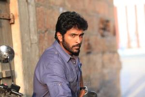 Actor Vikram Prabhu in Sathriyan Movie Stills