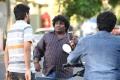 Actor Yogi Babu in Sathriyan Movie Stills