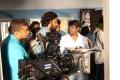 Director SR Prabhakaran @ Sathriyan Movie Working Stills