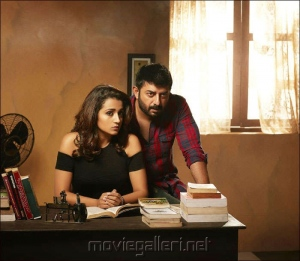 Trisha, Arvind Swamy in Sathuranga Vettai 2 Movie Images