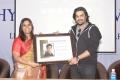 Mariazeena Johnson, Madhavan @ Sathyabama University Student Interactive Session With Irudhi Suttru Crew Photos