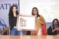 Ritika Singh, Mariazeena Johnson @ Sathyabama University Student Interactive Session With Irudhi Suttru Crew Photos