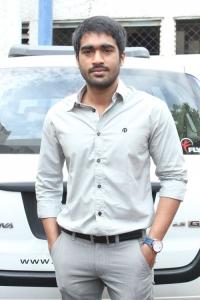Thaman Kumar at Sattam Oru Iruttarai Movie Audio Launch Stills