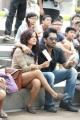 Piaa Bajpai, Thaman Kumar in Sattam Oru Iruttarai Stills