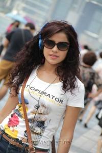 Actress Piaa Bajpai in Sattam Oru Iruttarai Movie Stills