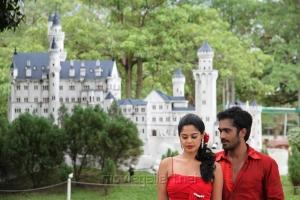 Bindu Madhavi, Thaman Kumar in Sattam Oru Iruttarai Movie Stills