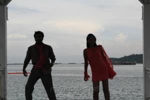 Thaman Kumar, Bindu Madhavi in Sattam Oru Iruttarai Movie Pictures